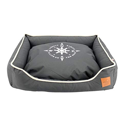 Pet Nest Kennelcat Bed en kussen Kleine hond Comfortabel Warm Zacht Puppy Slaapbank Blauw Kitten House Shack