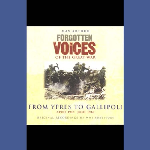 From Ypres to Gallipoli cover art