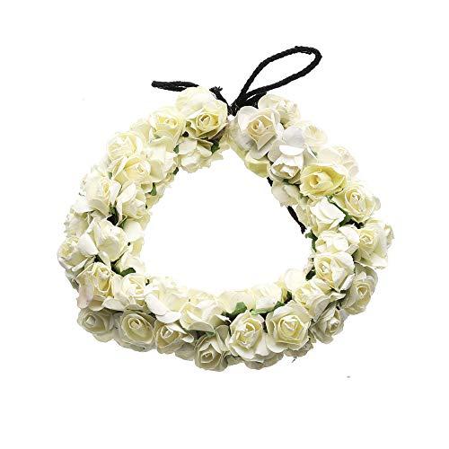 Aakarshana jewels Haarschmuck, indischer Stil, Blumen, Gajra Veni