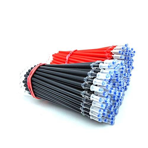 Aibecy - 100 recambios de bolígrafo de gel azul para recambio de bolígrafo