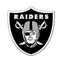 "Fremont Die NFL Shop Authentic 12"" Magnet Team Banner Helmet/Logo (Oakland Raiders Logo)"