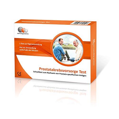 self-diagnostics PSA Schnelltest: Prostatakrebs Symptome zuhause bestimmen