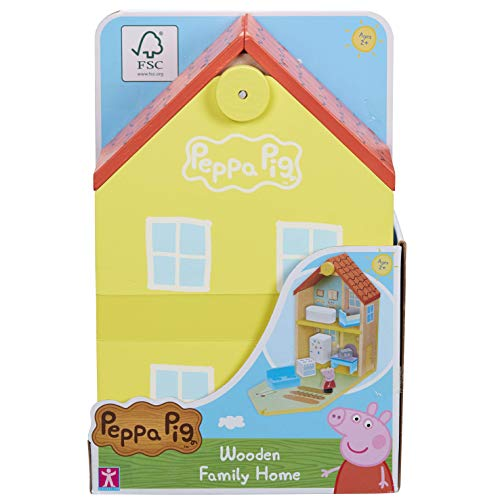 Peppa Pig 07213 Casa Familiar de Madera