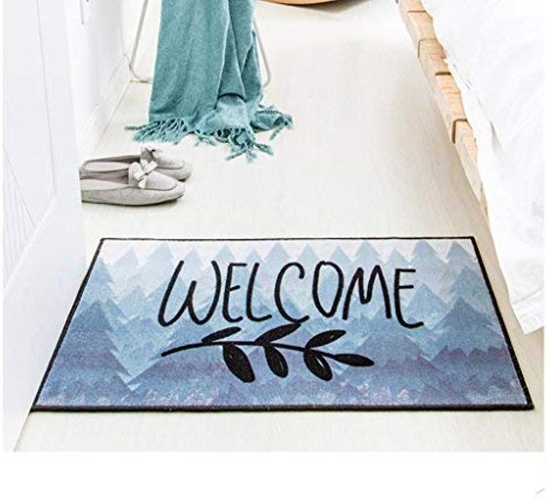 GONGFF For Pets Ltd Chemical fiber mats high elastic high density house soft nonslip and easy maintenance hand (color  bluee1, size  50cm  80cm)
