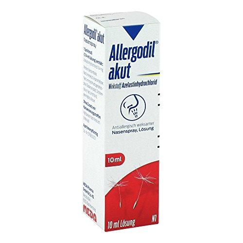 ALLERGODIL akut Nasenspray 10 ml
