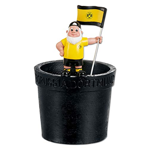 Borussia Dortmund BVB-Gartenzwerg Blumentopf one Size
