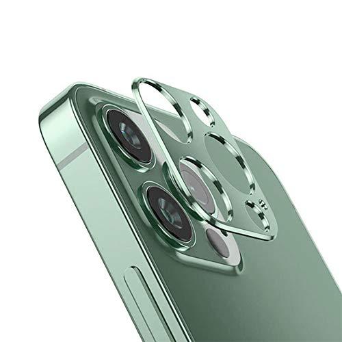 duoying Película protectora de vidrio templado duradero de vidrio endurecido de aleación a prueba de arañazos, carcasa de protección de lente en la parte posterior del teléfono, para Apple Serie 11/12