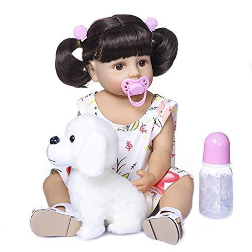 Zdlt Reborn Babypuppe, lebensechte Babypuppe, Vinyl, Babypuppe, realistische Reborn Puppe, 56 cm