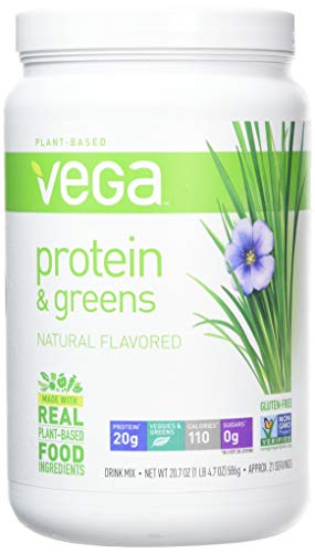 Vega Protein and Greens Plain Unsweetened, 586 g