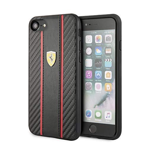 Carcasa iPhone 6 / 7 / 8 / SE (2020) Licencia Ferrari Negro