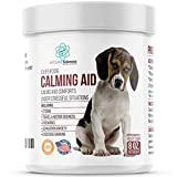 PET CARE Sciences Calming Treats for Dogs, Travel, Excessive Barking, Stress, Dog Separation Anxiety Relief, Composure Chews, Made in The USA