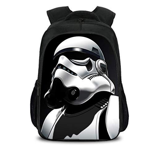 Schoolbag Niños Mochila Mochila Star Wars Animado Escuela Primaria del Bolso del Recorrido del Ordenador De Gran Capacidad E-40CM*27CM*17CM