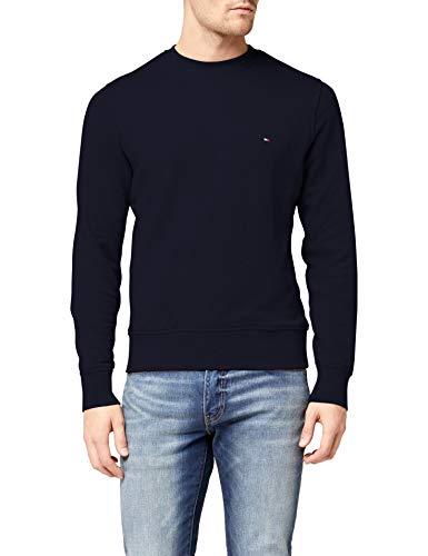 Tommy Hilfiger Herren Core Cotton Sweatshirt Pullover, Desert Sky, L