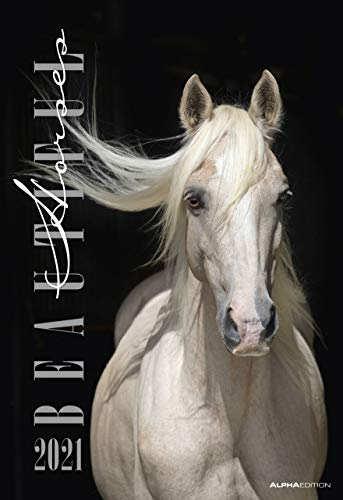 Beautiful Horses 2021 - Bild-Kalender 34x49,5cm - Pferde - Tierkalender - Wand-Kalender - Alpha Edition