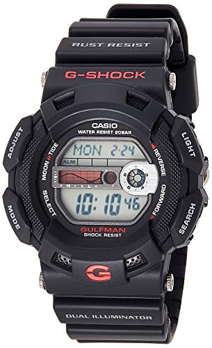 Casio G-Shock Herren Resin Uhrenarmband G-9100-1ER