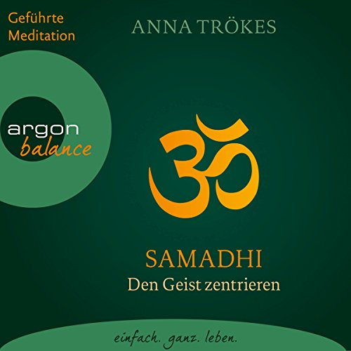 Samadhi audiobook cover art