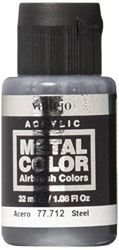 acrylicos Vallejo (32 ml stål metallfärg