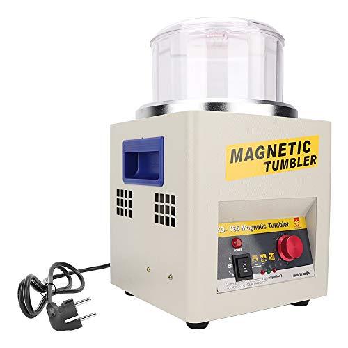 Vaso Magnético Joyería Pulidor De Desbarbado De Pulido De Pulido Máquina Máquina Magnética Vaso