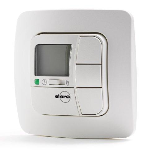 elero Zeitschaltuhr TempoTec, Wandschalter für Rollladen und Jalousien cremeweiß