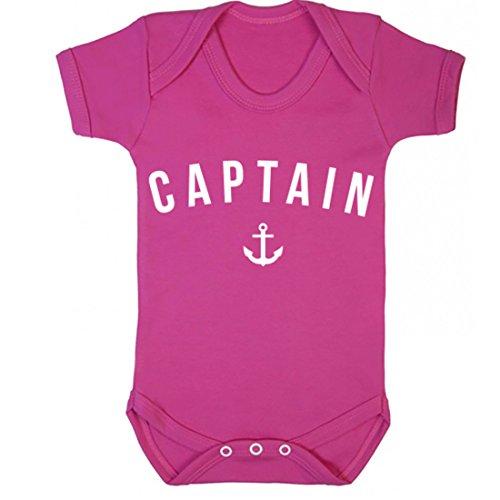illustratedidentity Captain Baby Vest Boys Girls
