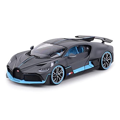Kit Juguetes Coches Metal Resistente Modelo De Coche Fundido A Escala 1:18 para Bugatti Divo, Simulación De Aleación, Modelo De Coche De Juguete, Decoración Estática Maravilloso Regalo