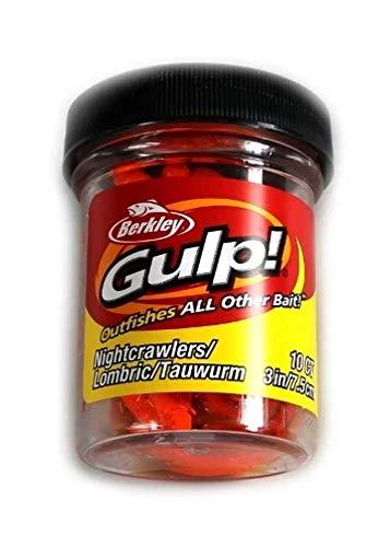 Berkley Gulp! Nightcrawler Freshwater 3in orange