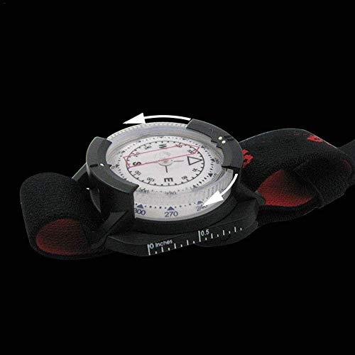 XLTWKK Brújula al Aire Libre Reloj de Buceo navegador a Prueba de Agua Reloj Digital brújula de Buceo brújula de natación submarina Herramienta al Aire Libre
