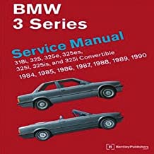 BMW 3 Series Service Manual 1984-1990[BMW 3 SERIES SERVICE MANUAL 19][Paperback]