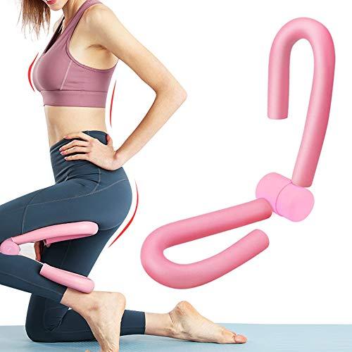 WELLXUNK® Oberschenkeltrainer, Beintrainer, Dünne Beine Brustvergrößerung Bein, Armtrainer Körperformer, Multifunktionaler Beintrainer, für Übungen an Beinen, Armen, Bauch und Hüften - Rosa