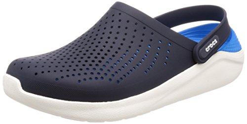 crocs Damen Literide Clog, Blau (marineblau / weiß), 46-47 EU