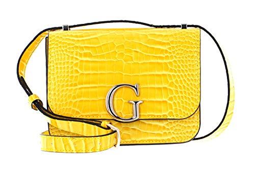 Guess Borsa tracolla Corily Convertible Xbody Flap cocco giallo BS21GU15 CG799178