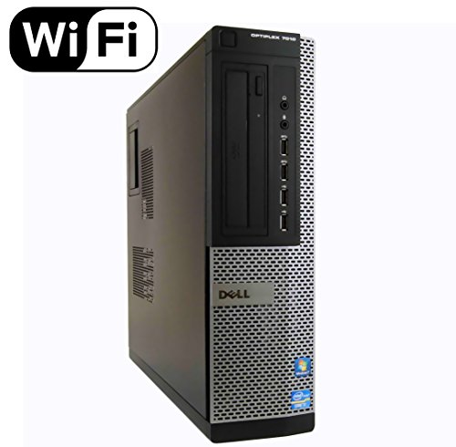 Dell Optiplex 7010 SFF Desktop PC - Intel Core i5-3470 3.2GHz 4GB 250GB DVD Windows 10 Pro (Renewed)