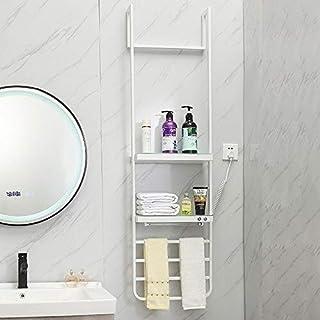 ZMXN Suministros de baño Radiador de toallero con calefacción Recta Calentador Moderno de calefacción Central for toallones Elegantes (Color : White, Size : 420 * 1500 * 150MM)