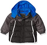 iXtreme Baby Boys' Colorblock Puffer, Black, 18M