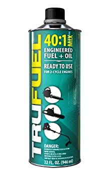 TruFuel - 6525538 2-Cycle 40 1 Pre-Blended Fuel for Outdoor Equipment - 32 oz.