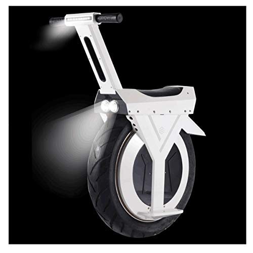 SEADOSHOPPING Electronic Unicycle,Outdoor Electric Treadmill Bike,Racing Motorcycle with Big Tyre