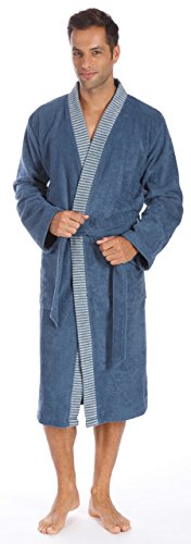 Egeria Kimono-badjas Bruno | Heren 368 Blue Rock - L