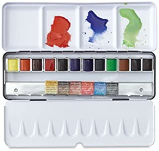 Sennelier French Artists' Watercolor Half Pans