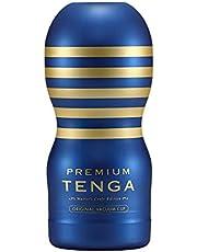 TENGA テンガ PREMIUM ORIGINAL VACUUM CUP プレミアム・オリジナルバキューム・カップ 青 1本