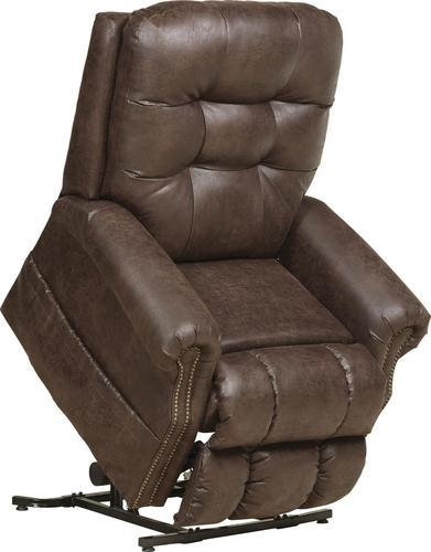 """""""THE ULTIMATE LIFT CHAIR"""" - Catnapper Power Lift - Full Lay Out Recliner with Heat & Massage - Comfort Coil Seating Featuring Comfor-Gel - Comfort Function - Gorgeous Nailhead Trim - 300 lb Capacity"""
