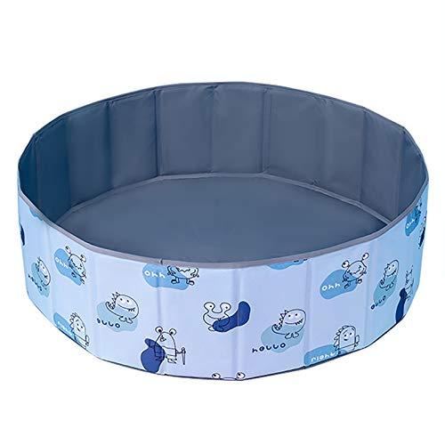 LIUFS Piscina De Bolas OceáNicas Valla Plegable para NiñOs Casa De Juego Hogar NiñOs Bola De Juguete Azul Pit Oxford Cesta De Almacenamiento De Tela