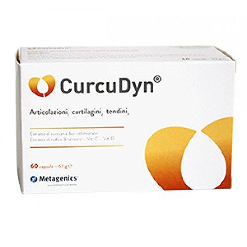 Metagenics Integratore Alimentare Curcudyn, 60 Capsule