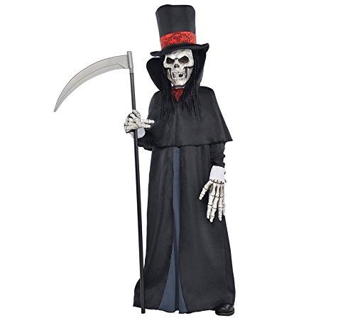amscan- Dapper Death Deguisement Ado Halloween, 999477