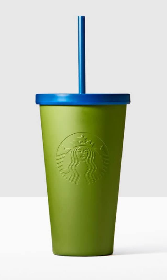 Starbucks Stainless Steel Cold Cup Green Army Factory outlet 16 Ounce Jacksonville Mall