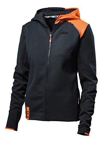 KTM Pull à capuche zippé pour femme