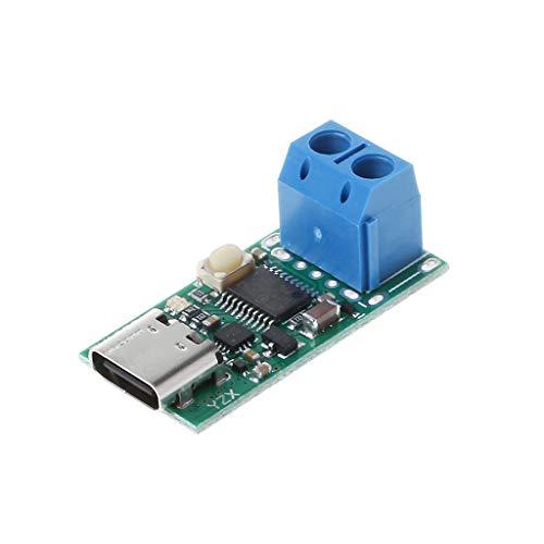 BIlinli Typ C USB Schnellladeköder-Detektor Trigger Poll Mudule PD 5A 9V / 12V / 15V / 20V Automatischer Test