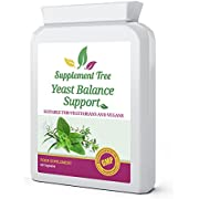 Candida & Yeast Balance Support 60 Capsules | Powerful Natural Herbs & Probiotics | 100% Non-GMO | Suitable for Vegans & Vegetarians | UK Manufactured