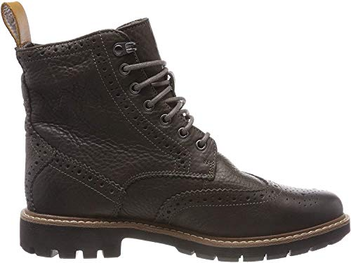 Clarks Herren Batcombe Lord Chelsea Boots, Grau (Taupe Leather), 42.5 EU