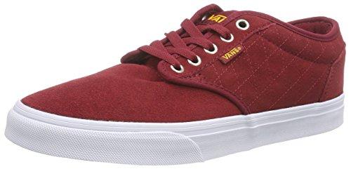 Vans M ATWOOD QUILT, Herren Sneakers, Rot ((Quilt) biking red/marshmallow), 41 EU