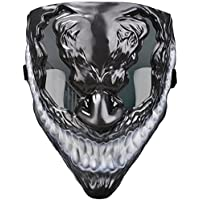 Quanquer Scary Halloween Mask (black)